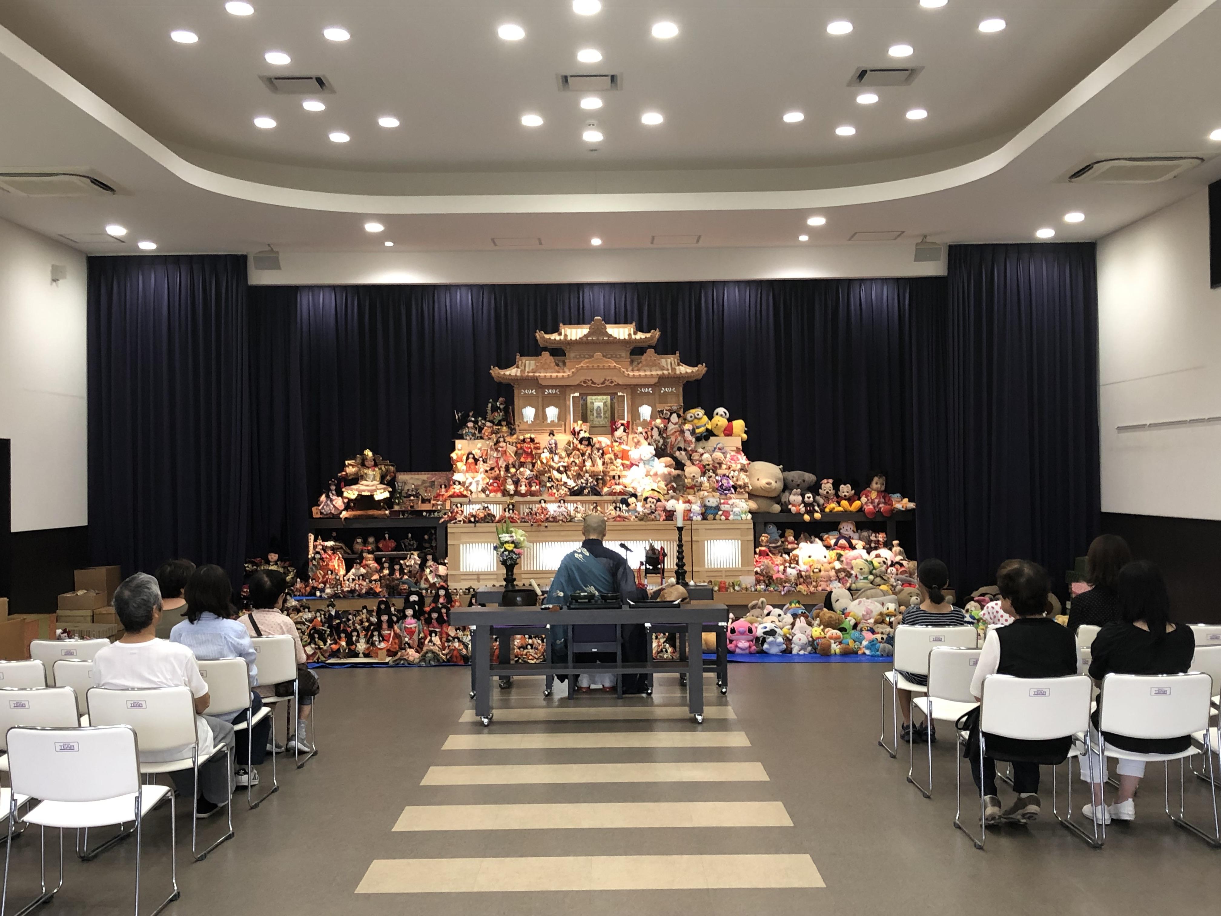 北会館 人形供養祭